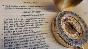 Kompas twój życie zdjęcie royalty free
