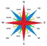 kompas wzrastał ilustracja wektor
