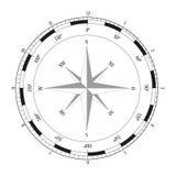 kompas wzrastał Zdjęcia Royalty Free