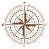 kompas wzrastał Zdjęcia Stock
