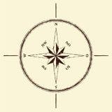 kompas wzrastał Zdjęcie Royalty Free