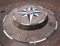 kompas wzrastał Obrazy Stock