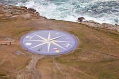 Kompas wzrastał Zdjęcie Stock