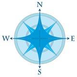 Kompas wzrastał Obrazy Royalty Free