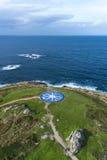 Kompas wzrastał w Coruna, Galicia, Hiszpania. Obraz Royalty Free