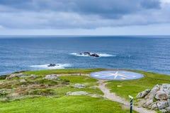 Kompas wzrastał w Coruna, Galicia, Hiszpania Zdjęcia Stock