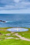 Kompas wzrastał w Coruna, Galicia, Hiszpania Zdjęcia Royalty Free