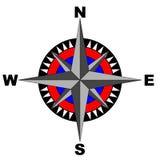 Kompas (zawierać eps kartoteka) ilustracja wektor