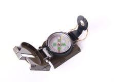 kompass över turist- white Arkivbilder