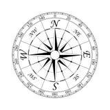 kompass 2 steg Arkivfoton
