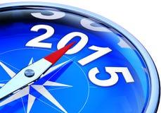 Kompass 2015 vektor illustrationer