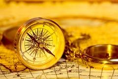 kompass Arkivfoto