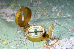 Kompass Imagens de Stock