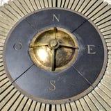 Kompass av den koloniala staden av Santo Domingo Royaltyfria Bilder