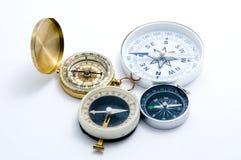 kompass fyra Arkivbilder