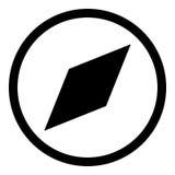 Kompass Glyphikone Stockfotografie