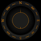 Kompass-Hintergrund Lizenzfreies Stockbild