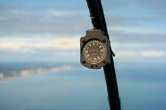 Kompass im Hubschrauber Lizenzfreie Stockbilder