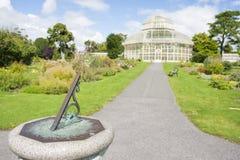 Kompass im nationalen botanischen Garten Stockbild