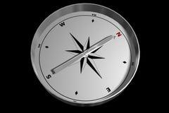 kompass isolerat peka för nord Fotografering för Bildbyråer