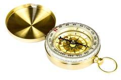 Kompass lokalisiert auf Weiß Lizenzfreies Stockfoto