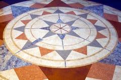 Kompass på den nationella luften och utrymmemuseum i Washington D C Royaltyfria Foton