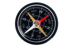 Kompass på white Royaltyfri Foto