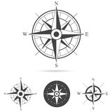 Kompass Rose Vector Collection royaltyfri illustrationer