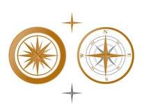Kompass-Vektor Stockfoto