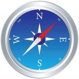 Kompass-Vektor Lizenzfreies Stockbild