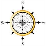 Kompass-Vorwahlknopf stock abbildung