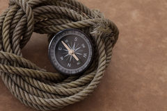Kompassabenteuerreise Lizenzfreie Stockfotografie