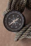Kompassabenteuerreise Stockbilder