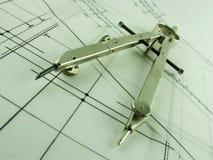 kompassdesign Arkivfoton