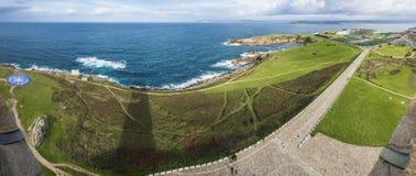 Kompasset steg i en Coruna, Galicia, Spanien Royaltyfri Fotografi