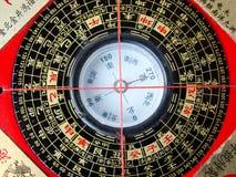 kompassfengshui Arkivfoton