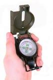 kompasshand Royaltyfria Foton