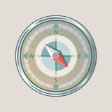Kompassinstrument lokalisiert Lizenzfreies Stockfoto