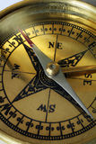 kompassmakro Royaltyfri Bild
