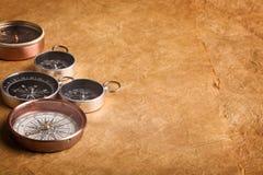 Kompassse stockbild