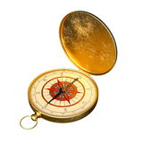 kompassse stockfoto