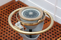 kompassship Royaltyfri Bild