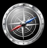 kompassstål vektor illustrationer