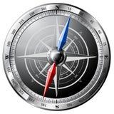 kompassstål Royaltyfri Foto