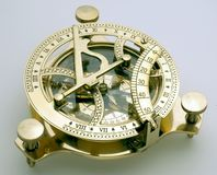 kompasssundial Arkivfoton