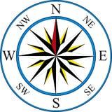 kompasssymbol Royaltyfri Foto