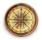 kompasstappning royaltyfri foto