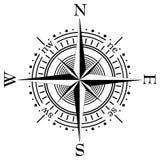 kompassvektor Arkivfoton