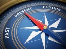 Kompassvisare som pekar gåva illustration 3d Royaltyfria Bilder