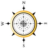 kompassvisartavla stock illustrationer